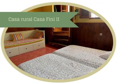 Casa rural en Llanes - casa Fini II